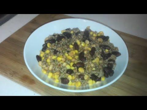 Minced Beef & Bean Stew