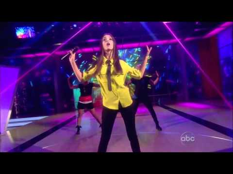 Victoria Justice Performs All I Want Is Everything on The View