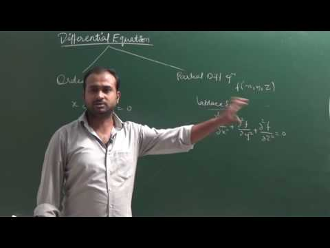 Basics, Order And Degree Of Differential Equations|CBSE 12 Maths NCERT  Ex 9.1 Intro