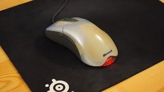 Замена микриков в мыши Microsoft