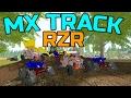 FARMING SIMULATOR 2017   MX TRACK CONSTRUCTION   MULTIPLAYER   RACING
