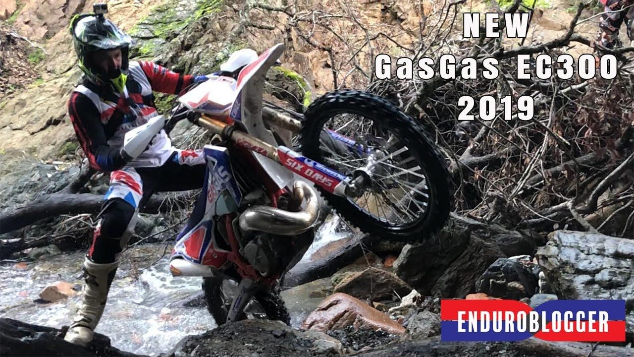 NEW GAS GAS EC 300 2019 Six Days | First ride River Test