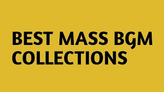 Gambar cover BEST MASS BGM COLLECTIONS    SOUTH INDIAN MASS BGMS
