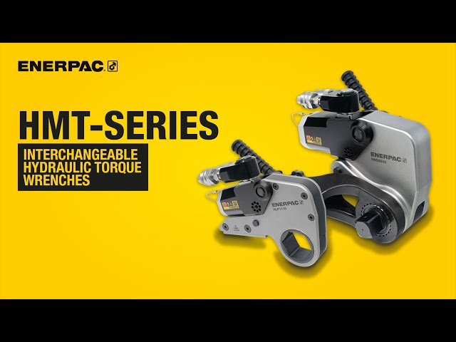 HMT-Series Interchangeable Hydraulic Torque Wrenches | Enerpac