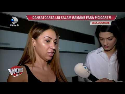 WOWBIZ (03.04.2017) - Denisa Despa, dansatoarea lui Salam, complicatii crunte dupa liposuctie!