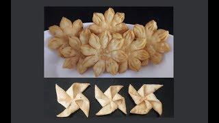 Mathri Recipe दीपावली Special – इस त्योहार बनाइये फूल जैसी सुंदर खस्ता मठरी दो Designs में