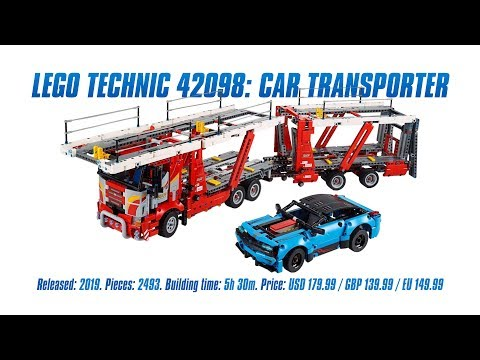 LEGO Technic 42098: Car Transporter In-depth Review, Speed Build & Parts List [4K]