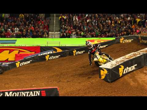 Supercross LIVE! 2014 - And On The Podium Tonight - James Stewart in St. Louis
