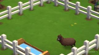 Black Welsh Mountain Sheep - FarmVille 2