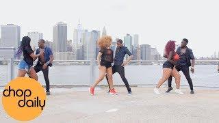 WizKid ft Chris Brown - African Bad Gyal (Dance Video) | Chop Daily