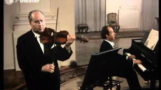 Download lagu Oistrach Badura Skoda Mozart Violin Sonata KV 454 part 1 of 3 MP3