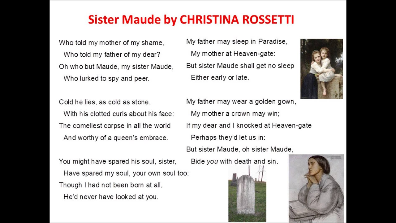 uphill christina rossetti Order your christina rossetti's uphill analysis paper at affordable prices with custom writing service in uphill, christina rossetti writes of lifes never.