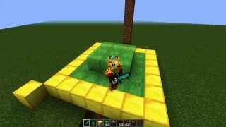 Minecraft: Como Hacer Un Trampolín (Sin Mods y Comando)