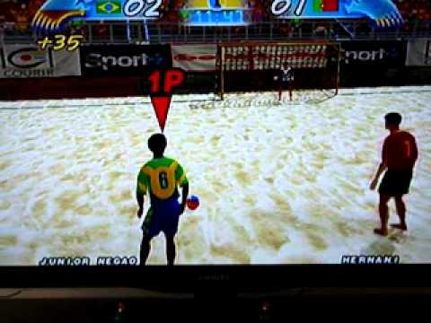 jogo de futebol de areia para ps2