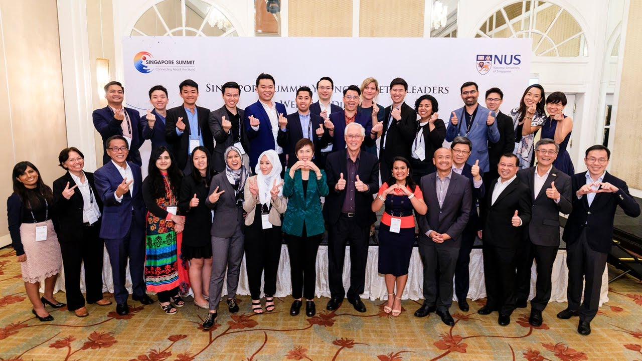 Served as Faculty Lead for the Singapore Summit Young Societal Leaders, 18-21 September 2019
