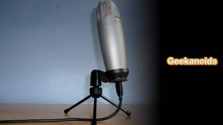 Samson C01U USB Condenser Microphone Unboxing & Review