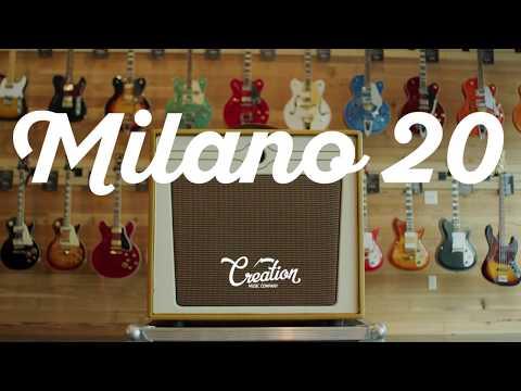 Creation Music Milano 20 Amp Demo