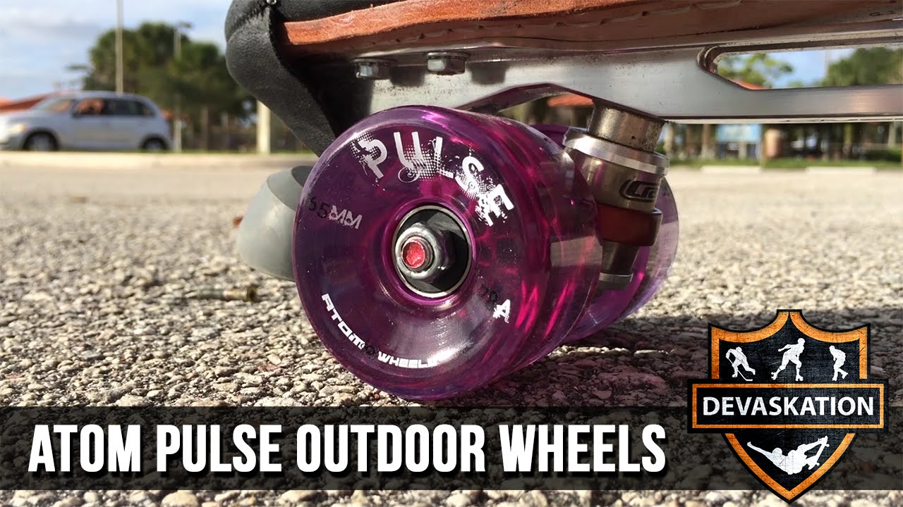 Atom Pulse Glitter Outdoor Roller Skate Wheels