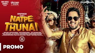 Natpe Thunai | Kerala Song - Behind The Scenes | Hiphop Tamizha | Anagha | Sundar C