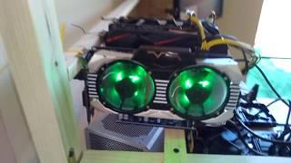 Видеокарта для майнинга Manli GeForce GTX 1060 Gallardo 6144Mb