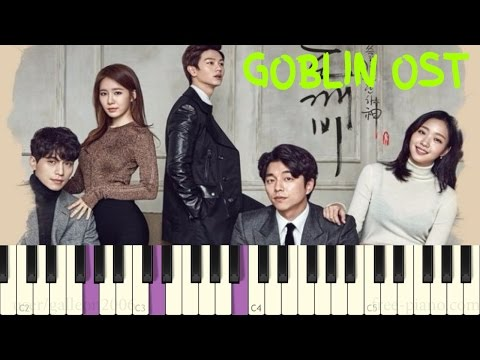 Goblin OST - Stuck in Love + And I'm Here - Piano Tutorial
