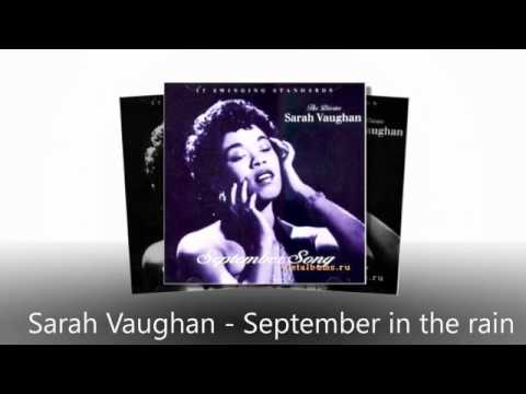 September in the rain - Sarah Vaughan