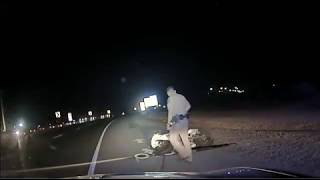Texas State Troopers Chase Ft. Bliss Soldier that Ends in a Fatal Crash.