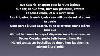 Скачать Stromae Ave Cesaria Lyrics