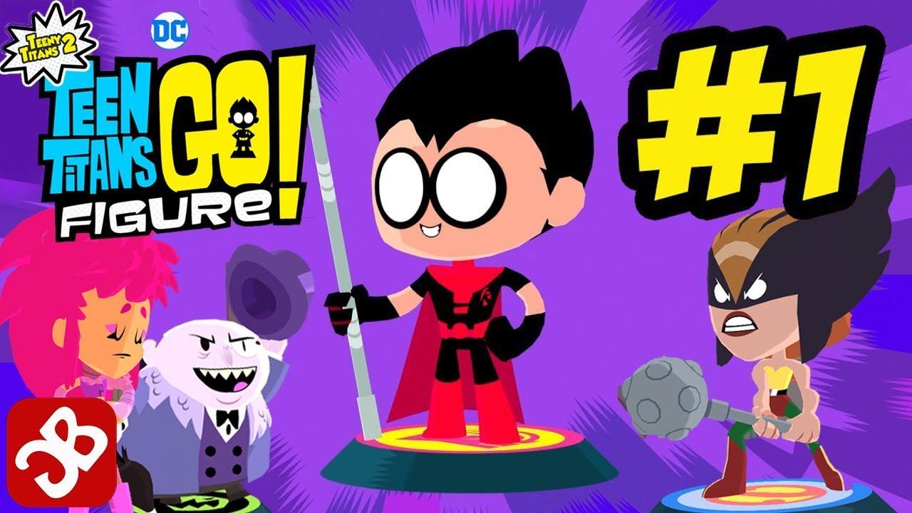 Teeny Titans 2 - Teen Titans Go Figure By Cartoon Network -4596