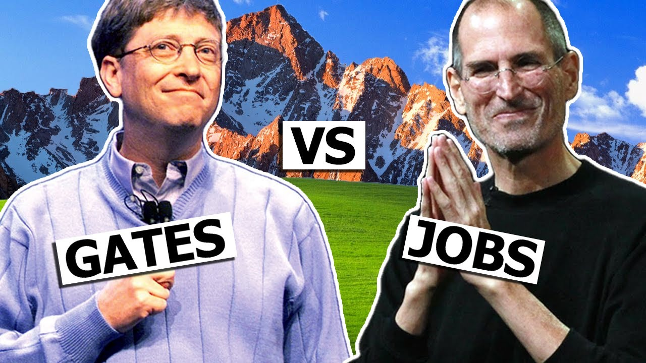RIVALRIES: Bill Gates VS Steve Jobs