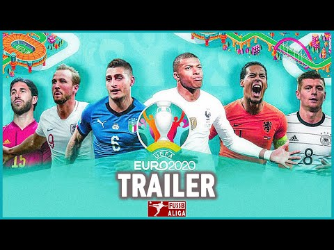 كأس أمم أوروبا يورو 2021 -   UEFA EURO 2021 Trailer 4K