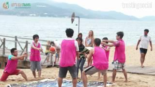 Team Building tại Bãi Biển Nha Trang - Let's Fly Travel Nha Trang