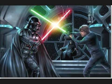 Image result for luke and darth vader fight