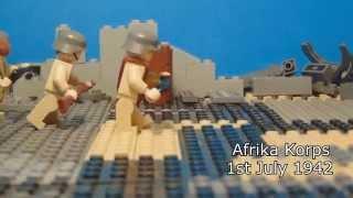 Lego WW2 battle of El Alamein