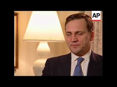 AP interview with FM Sikorski