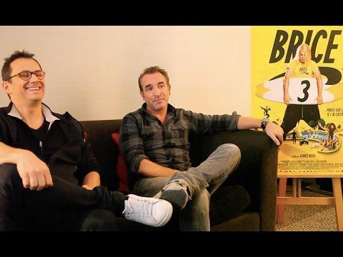 Entretien avec Jean Dujardin et James Huth pour Brice 3 (Interview)