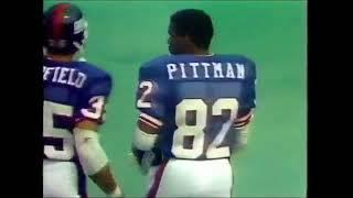 Los Angeles Rams vs New York Giants 1983 Week 1