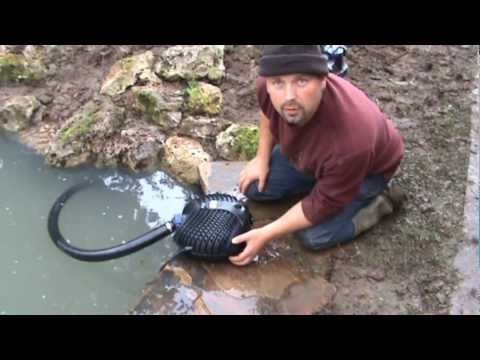 How to Build a Fish Pond and Stream / Cascade - Complete pon