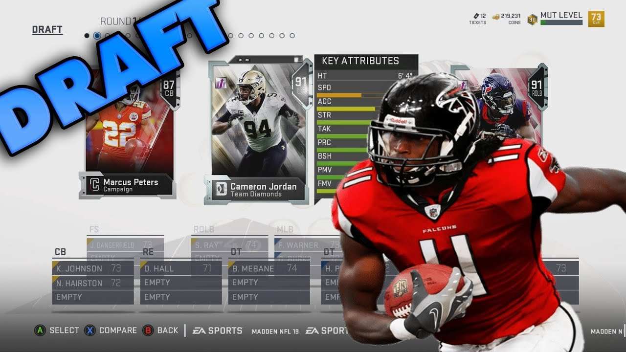 how to draft a good team in madden 13