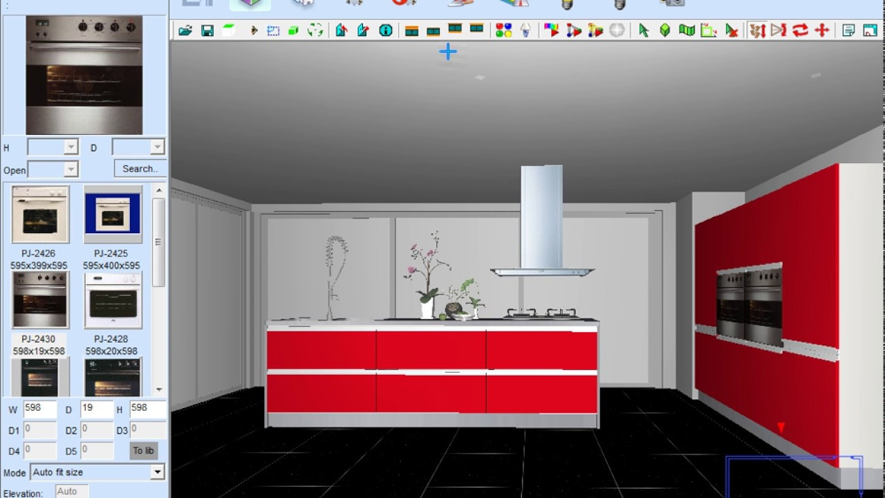 Fastest kitchen design software