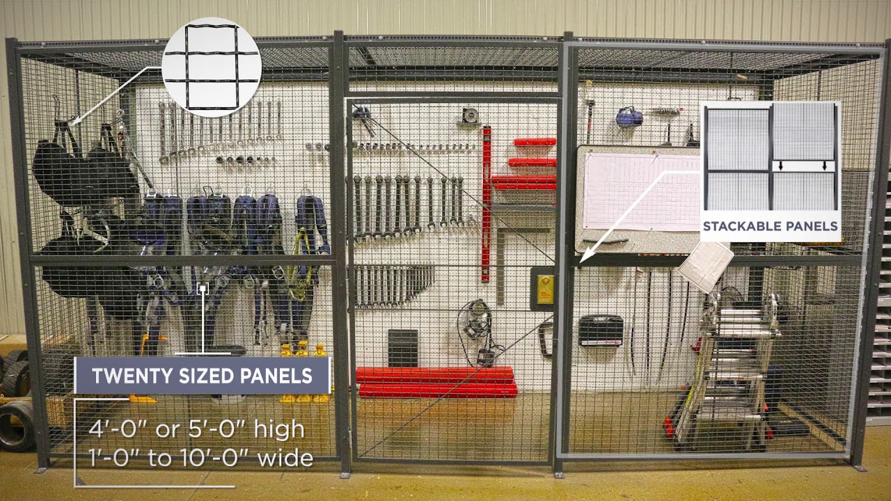 WireCrafters Tool Cribs U0026 Secure Storage Cages