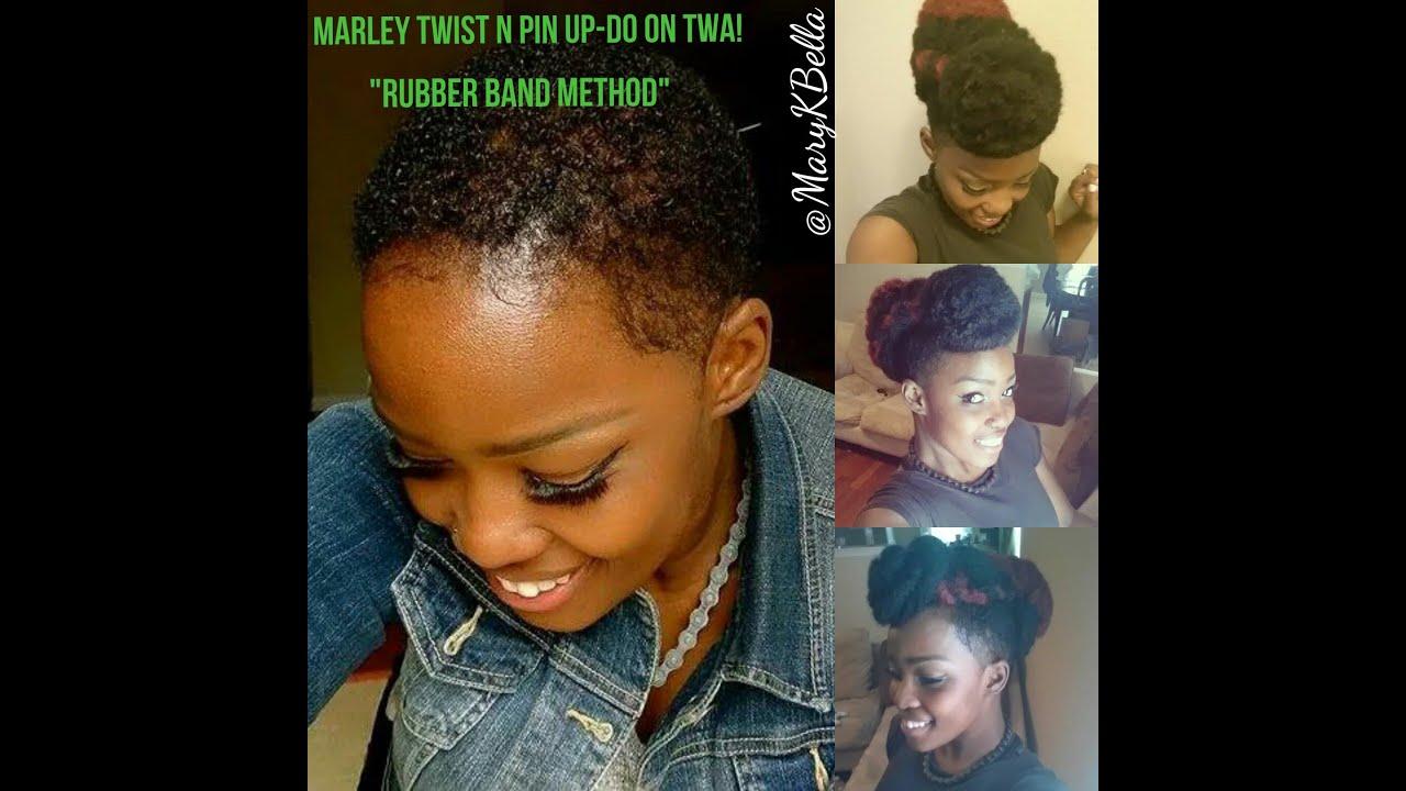 Toyokalon Afro Twist Up Do On Short Hair Original Bella