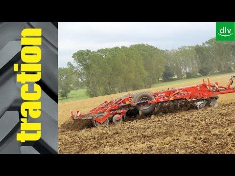 Kuhn Performer 5000 mit John Deere 9510R in der traction Arbeitsprobe.