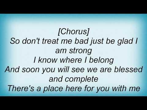 Sia - Where I Belong Lyrics