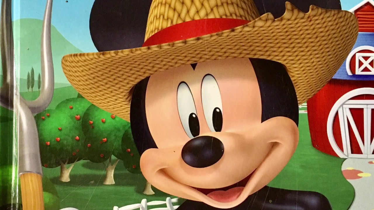 Disney Mickey Mouse Clubhouse Farmer Mickey Story Book Me ...