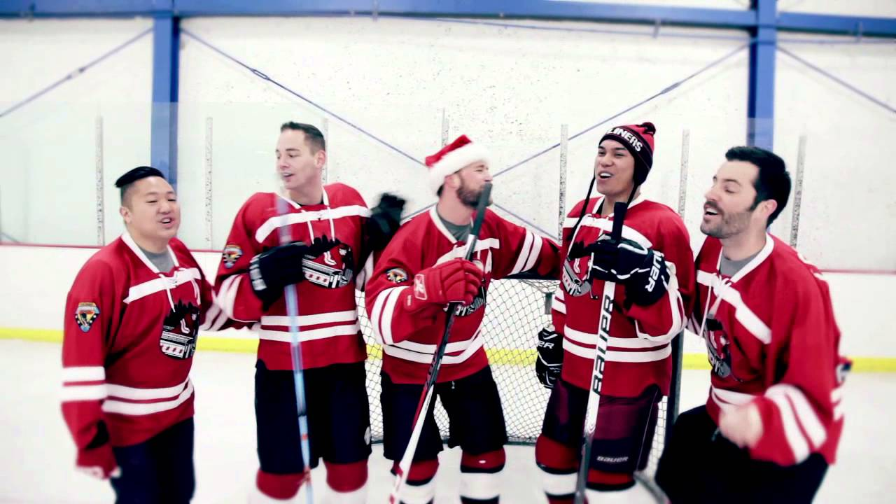 All Chicago Gay Hockey Assn. Wants for Christmas - YouTube