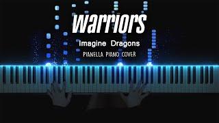 Imagine Dragons - Warriors (League of Legends) | Piano Cover by Pianella Piano