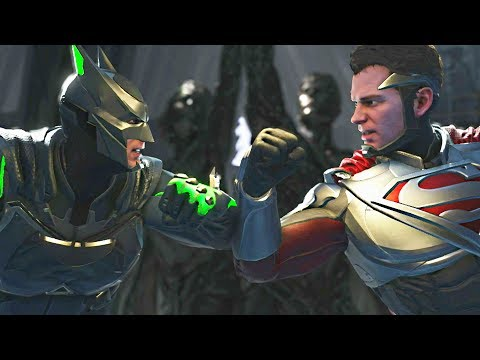 Injustice 2 - Batman vs Superman - All Intro Dialogue, Super Moves And Clash Quotes