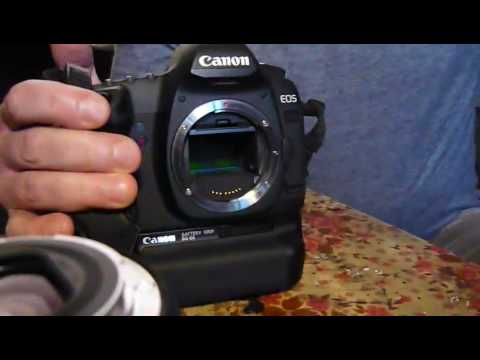 Canon 5D mkII sensor cleaning