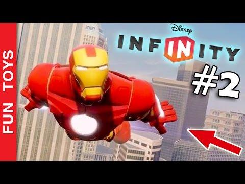 NOVA ARMA IRADA do Homem de Ferro - fase dos Vingadores - Disney Infinity Gameplay em português - #2